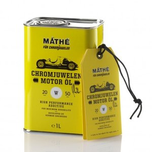 MATHE Chromjuwelen クラシックカー専用 エンジンオイル 20W50 1L缶|jms-japan