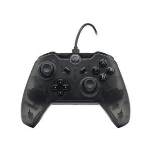 Switch用 ワイヤレス コントローラー ブラック(スケルトン)