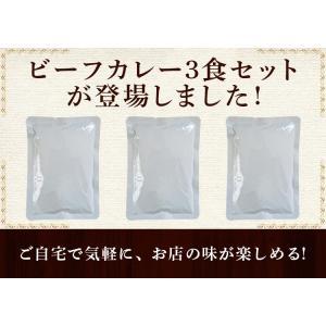 カレー レトルト松蔵ふらんす亭 伝説のビーフカレー 180g×3パック 送料無料|jn-mall|02