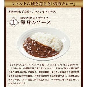 カレー レトルト松蔵ふらんす亭 伝説のビーフカレー 180g×3パック 送料無料|jn-mall|04