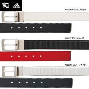【17年SSモデル】 アディダス メンズ CP リバーシブルベルト AWT46 (Men's) adidas golf|jngolf2010