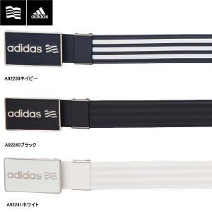 【17年SSモデル】 アディダス メンズ SP ロゴバックルベルト AWT47 (Men's) adidas golf|jngolf2010