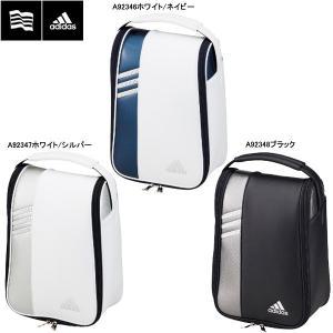 【18年継続モデル】 アディダス メンズ ピュアメタル シューズケース2 AWT83 (Men's) adidas golf|jngolf2010