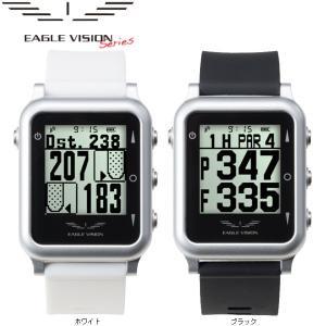 【17年モデル】 朝日ゴルフ イーグルビジョン ウォッチ4 GPS小型距離計測器 (腕時計タイプ)EAGLE VISION WATCH4 (防水機能あり)|jngolf2010