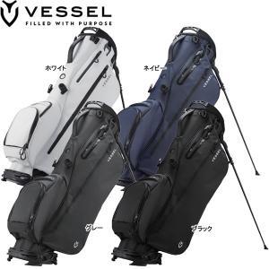 [メンズ] ベゼル ライト スタンド キャディバッグ 充実機能搭載の超軽量小型スタンドバッグ。  【...