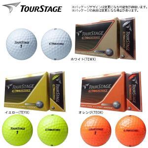 【2014年モデル】ツアーステージ  エクストラ ディスタンス ゴルフボール 1ダース(12球)  TOURSTAGE EXTRA DISTANCE ブリヂストン BRIDGESTONE