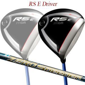 【特注】【19年モデル】 プロギア RS E ドライバー [ゼロ スピーダー] PRGR レッド D...