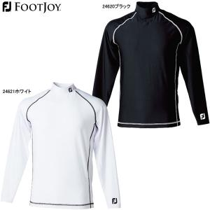 【ネコポス発送のみ送料無料】 フットジョイ メンズ サーマルモックシャツ FJ-F13-B01 (Men's) パフォーマンス アパレル FOOTJOY PERFORMANCE GOLF APPAREL|jngolf2010