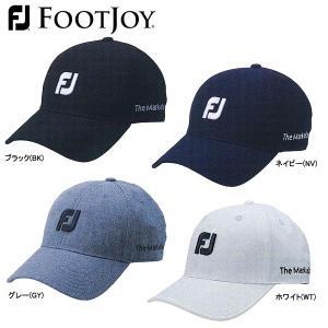 【17年AWモデル】【冬季限定】フットジョイ メンズ フォールキャップ17 FJHW1708 (Men's) FOOTJOY|jngolf2010
