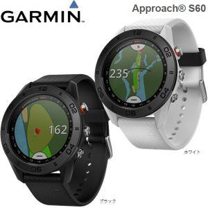 【17年モデル】 ガーミン アプローチS60 (ブラック/ホワイト) ゴルフナビ 高感度GPS (ウォッチタイプ) GARMIN Approach S60 BLACK WHITE|jngolf2010