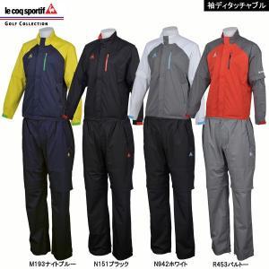 【18年継続モデル】 ルコック ゴルフ メンズ レインウエア...