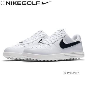【17年継続モデル】 ナイキ メンズ ゴルフシューズ ルナ フォース1 (ワイド) 818727-103 ホワイト/ブラック (Men's) NIKE FOOTWEAR GOLF jngolf2010