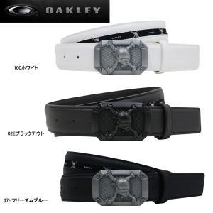 【17年SSモデル】オークリー メンズ ゴルフ スカル テープ ベルト 96191JP (Men's) SKULL TAPE BELT OAKLEY|jngolf2010