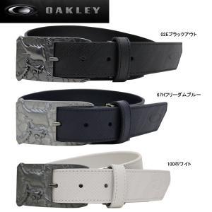 【17年SSモデル】オークリー メンズ ゴルフ スカル クラック ベルト 96192JP (Men's) SKULL CRACK BELT OAKLEY|jngolf2010
