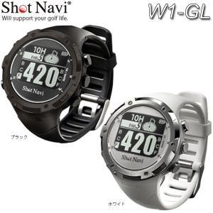 【17年モデル】ショットナビ W1-GL  腕時計型GPSゴルフウォッチ 距離計測器  ゴルフナビ  防水・液晶画面  Shot Nabi|jngolf2010