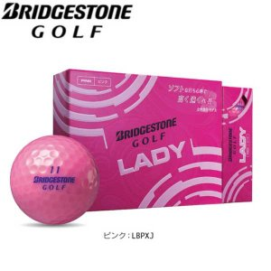 【プリントネーム】  ブリヂストンゴルフ  ゴルフボール レディ ボール 1ダース(12球) BSG LADY BRIDGESTONE GOLF LBPXJ jngolf2010