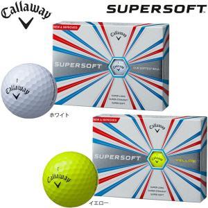 【プリントネーム】 キャロウェイ スーパーソフト ボール 1ダース(12球入り) Callaway SUPERSOFT BALL jngolf2010