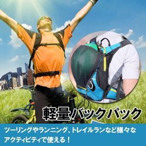 サイクリングバッグ スポーツバッグ 自転車 リュックサック 防水 バッグ ヘルメツト収納 ランニングバッグ   ボーナスセール ゆうパケット不可 jnh 04