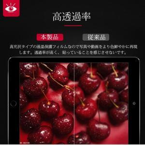 iPad Pro 12.9インチ 液晶保護フィルム 液晶フィルム 高光沢 クリア jnh 05