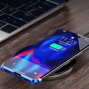 【新発売セール】iPhone XR iPhone 7 Plus/8 Plus/7/8 iPhone XS Max/X/XS 両面ガラスケース マグネット式 アルミ スマホケース ネコポス送料無料 翌日配達対応 jnh 10