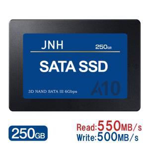JNH製SSD 250GB 2.5インチ 3D NAND SATAIII対応 SSD パッケージ品 ...