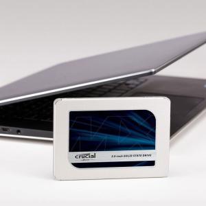 Crucial クルーシャルSSD 500GB 2.5インチCT500MX500SSD1 7mm SATA3内蔵SSD 7mmから9.5mmへの変換スペーサー付属 5年保証・翌日配達|jnh|12