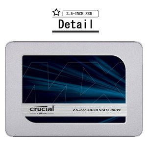 Crucial クルーシャルMX500 SSD 1TB 2.5インチCT1000MX500SSD1 7mm SATA3内蔵SSD  (9.5mmアダプター付属) パッケージ品【5年保証】|jnh|13