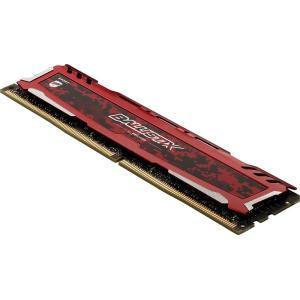 Crucial ゲーミングモデル DDR4 デスクトップメモリ 16GBキット(8GBx2) 【5年保証・翌日配達】Ballistix Sport LT Red DDR4-2666 UDIMM BLS2K8G4D26BFSEK jnh 02