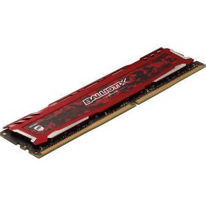 Crucial ゲーミングモデル DDR4 デスクトップメモリ 16GBキット(8GBx2) 【5年保証・翌日配達】Ballistix Sport LT Red DDR4-2666 UDIMM BLS2K8G4D26BFSEK jnh 03