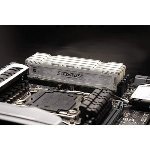 CrucialゲーミングモデルBallistix Sport LT DDR4 メモリ【5年保証・翌日配達】Ballistix Sport LT White 8GB DDR4-2666 UDIMM BLS8G4D26BFSC 感謝デー|jnh|03
