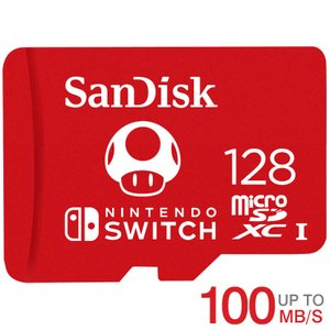 microSDXC 128GB for Nintendo Switch SanDisk UHS-I ...