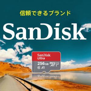 microSDXC 256GB SanDisk サンディスク UHS-1 U1 FULL HD Rated A1 R:100MB/s SDSQUAR-256G-GN6MN海外パッケージ品 SA3311QUAR-256G-NA 感謝セール|jnh|02
