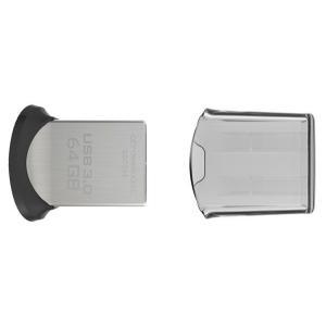 2個セットお買得 SanDisk USBメモリー 64GB Ultra Fit USB3.0対応 高速130MB/s 超小型 海外向けパッケージ品|jnh|03
