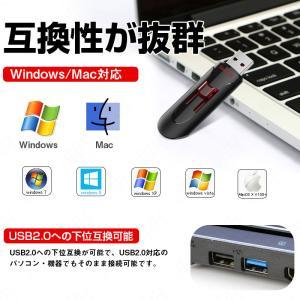 USBメモリー 128GB SanDisk サンディスク Cruzer Glide USB3.0対応 超高速 海外向けパッケージ品 翌日配達対応 jnh 08