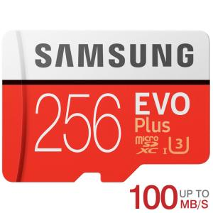 microSDXC 256GB Samsung サムスン EVO Plus EVO+ R:100MB...