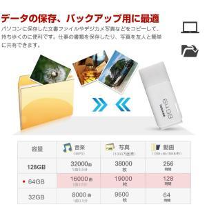 TOSHIBA 東芝 USBメモリー 64GB TransMemory USB2.0対応  海外パッケージ品 感謝セール 翌日配達対応|jnh|05