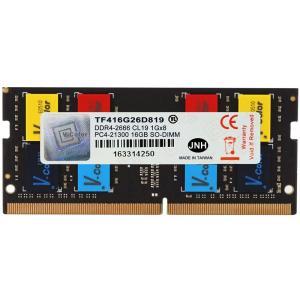 【新発売・特価】ノートPC用メモリ DDR4-2666 PC4-21300 16GB SODIMM TF416G26D819 V-Color カラフルなICチップ 安心の永久保証 ネコポス送料無料 翌日配達対応|jnh|02