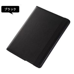 ゆうパケット送料無料 iPad2/iPad3/iPad4ケース カバーPUレザー調ケース スタンド 回転PUレザーケース ブックタイプ ホークスセール|jnhshop|02