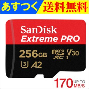 * Sandisk microSDXC 256GB EXTREME PRO UHS-I V30 U3...