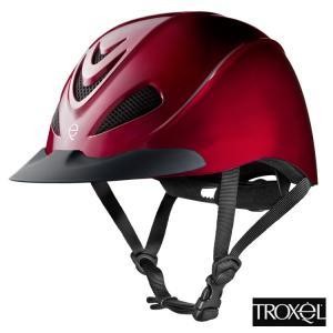 乗馬用ヘルメット TROXEL LIBERTY(ルビーレッド 赤) 乗馬ヘルメット 帽子