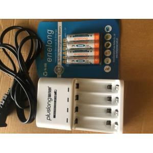 2100mAh単三充電池4本+充電器セット|jobell