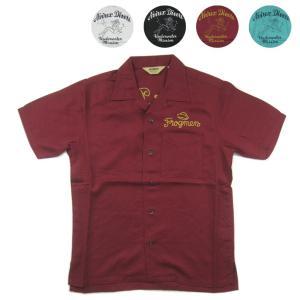 生地にはリヨセルを使用、独特なドレープ感が雰囲気あるシャツ【6195109】 (AVIREX アヴィ...