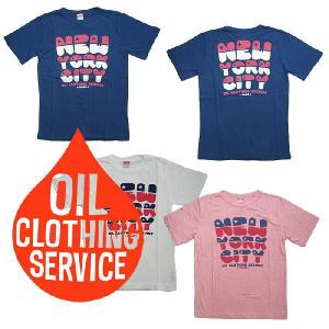 OIL CLOTHING SERVICE/オイルクロージングサービス 半袖 デザインTシャツ NEW...