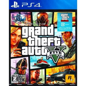 PS4:グランド セフト オートV 新価格版 新品 送料無料...
