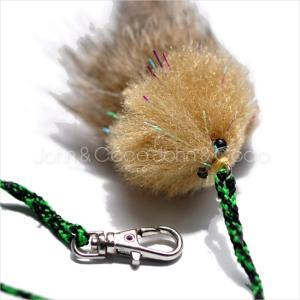 ネコフライアーが先のおもちゃが付け替えられるように画期的にリニューアル! 生きているようにリアルな動...