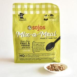 好きなお肉を加えて、水を注いで15分浸すだけで手作りフードが完成!穀類を一切使用せず、ビタミン、ミネ...