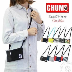 CHUMS チャムス よりスマートフォンショルダーバッグが入荷致しました。 スウェット×コーデュラナ...