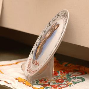 ビンテージ絵皿 こぐまのミーシャ 聖火|johnnyjumpup|02