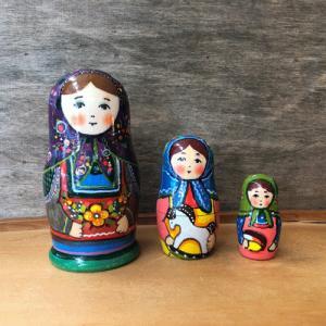 マトリョーシカ アーニャ お母さんと子供|johnnyjumpup