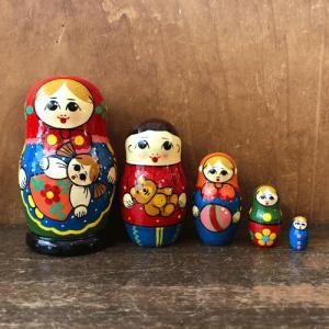 マトリョーシカ セルギエフ・パッサード 玩具|johnnyjumpup